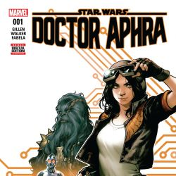 Star Wars: Doctor Aphra #1 cover by Kamome Shirahama