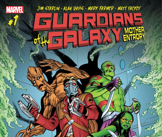cover from Guardians of the Galaxy: Mother Entropy (2017) #1