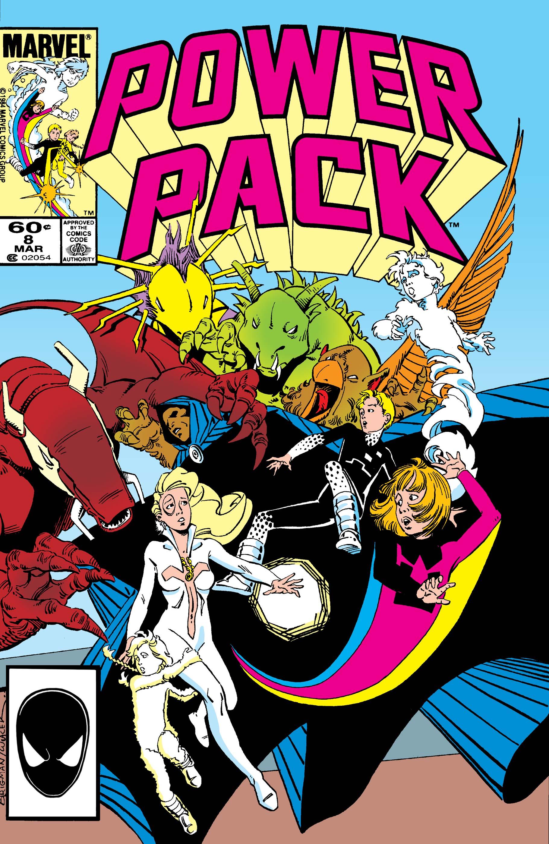 Power Pack (1984) #8