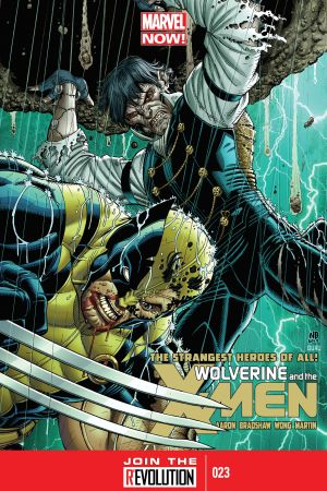 Wolverine & the X-Men #23