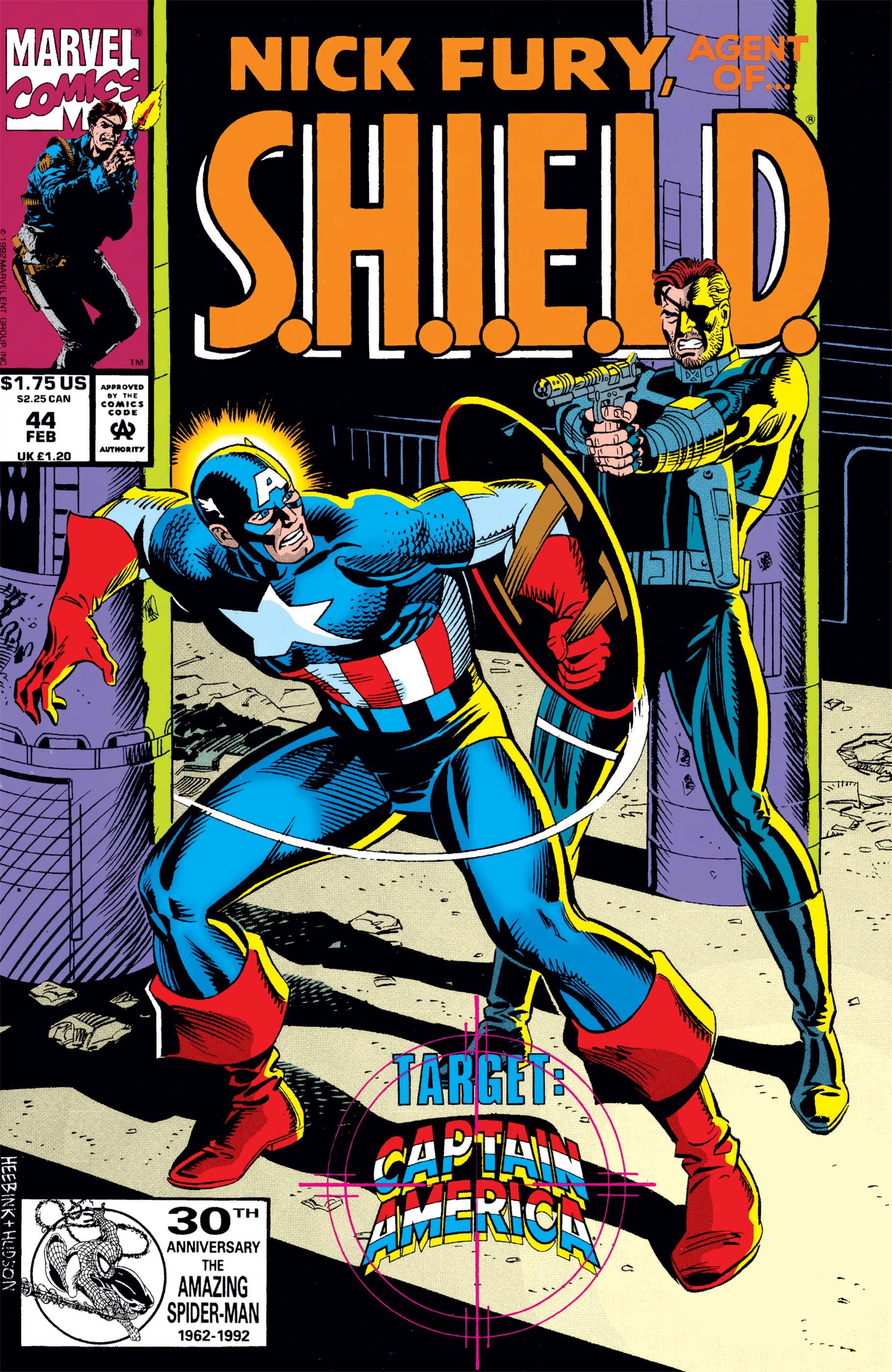 Nick Fury, Agent of S.H.I.E.L.D. (1989) #44