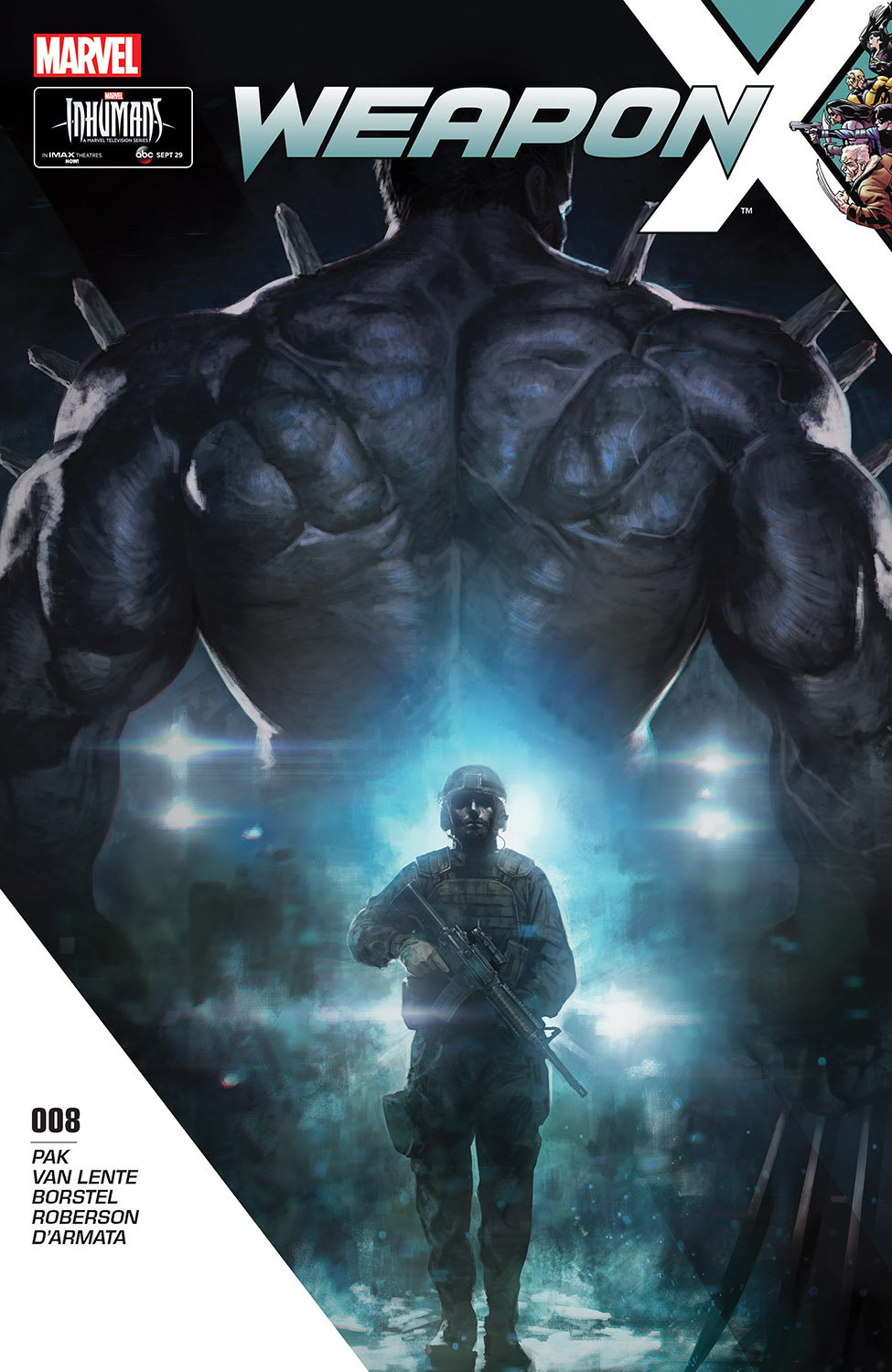 Weapon X (2017) #8