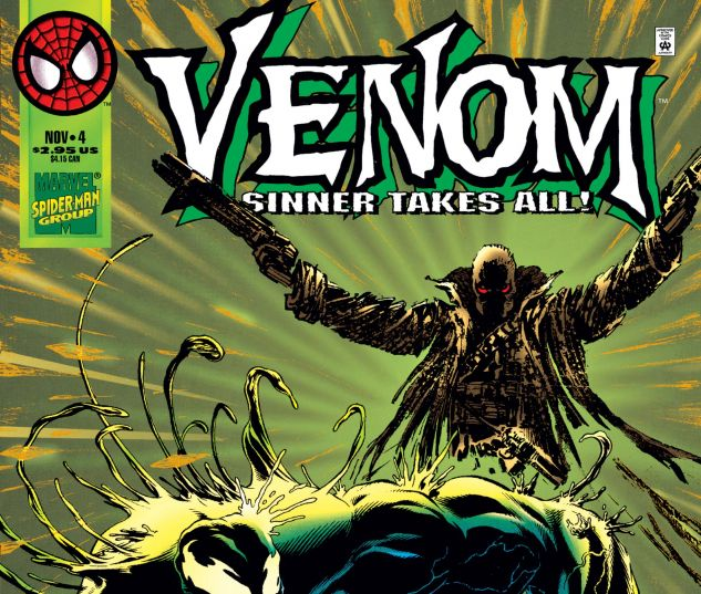 Cover for VENOM: SINNER TAKES ALL 4