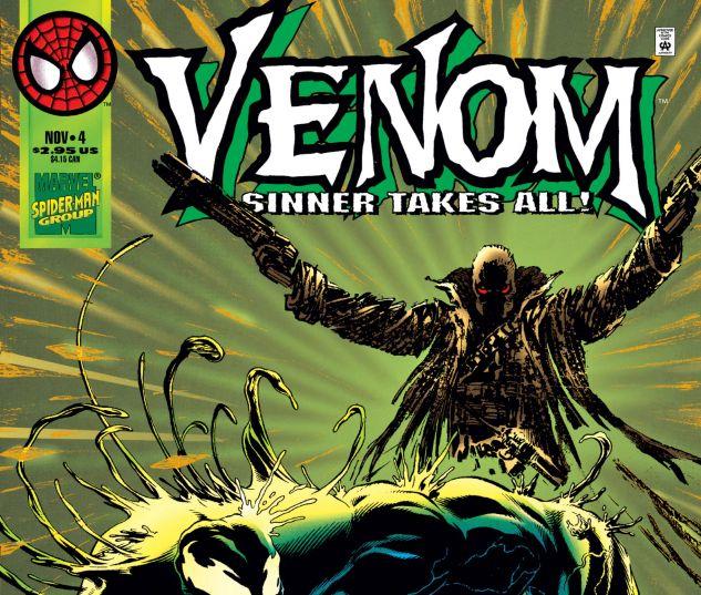 Cover for VENOM: SINNER TAKES ALL 4
