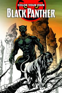 Color Your Own Black Panther (Trade Paperback)