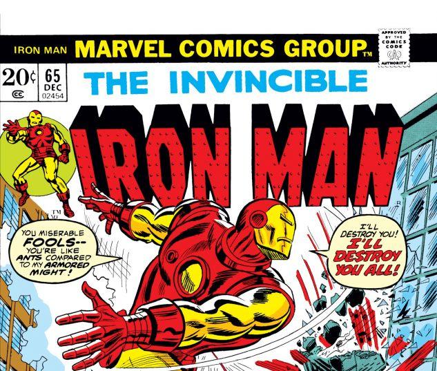Iron Man (1968) #65