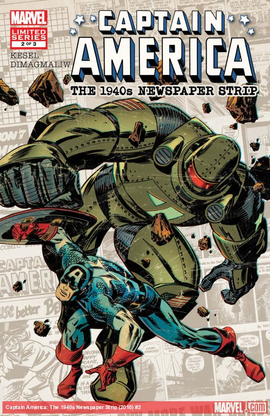 Captain America: The 1940s Newspaper Strip (2010) #2