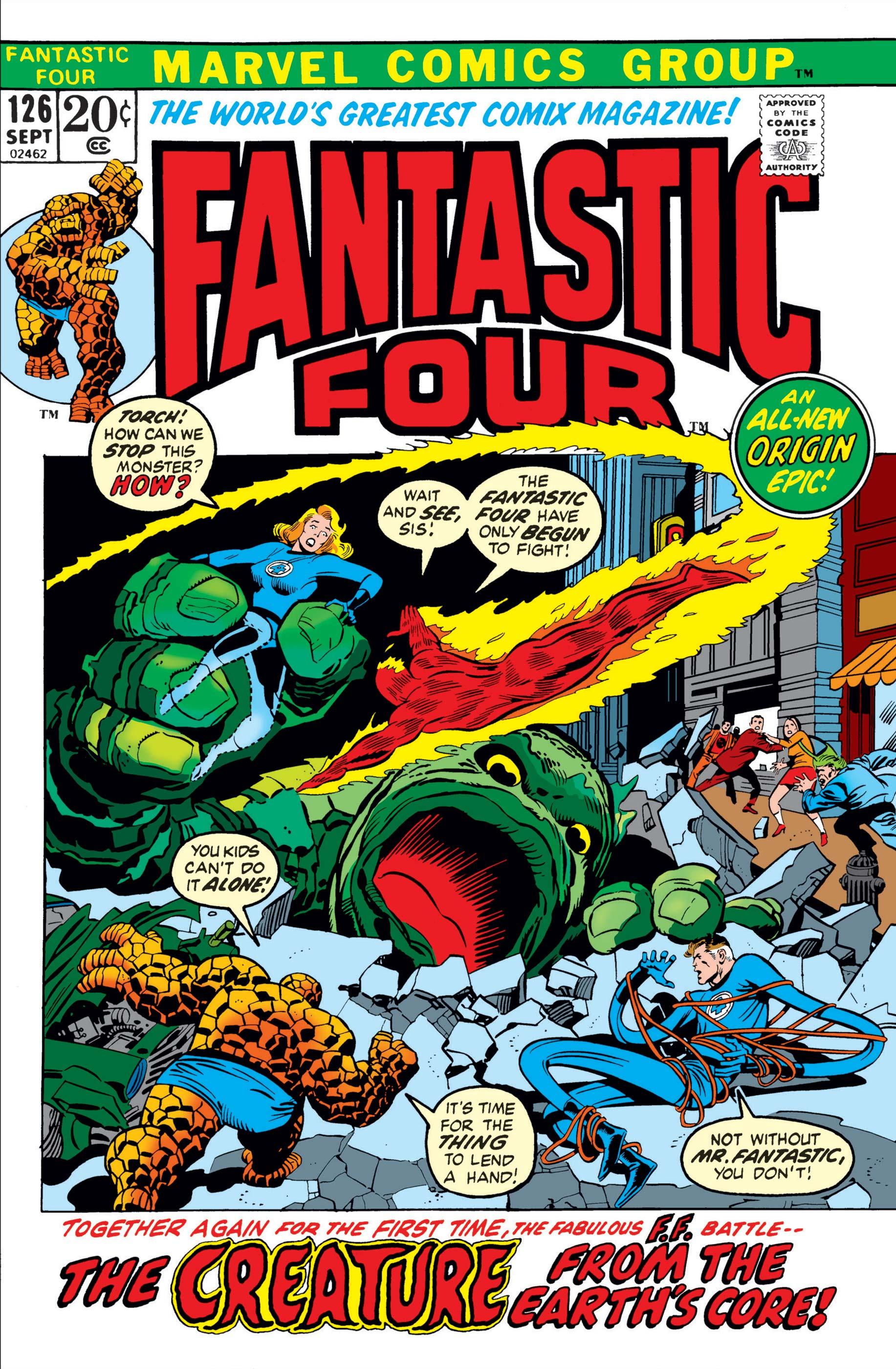 Fantastic Four (1961) #126