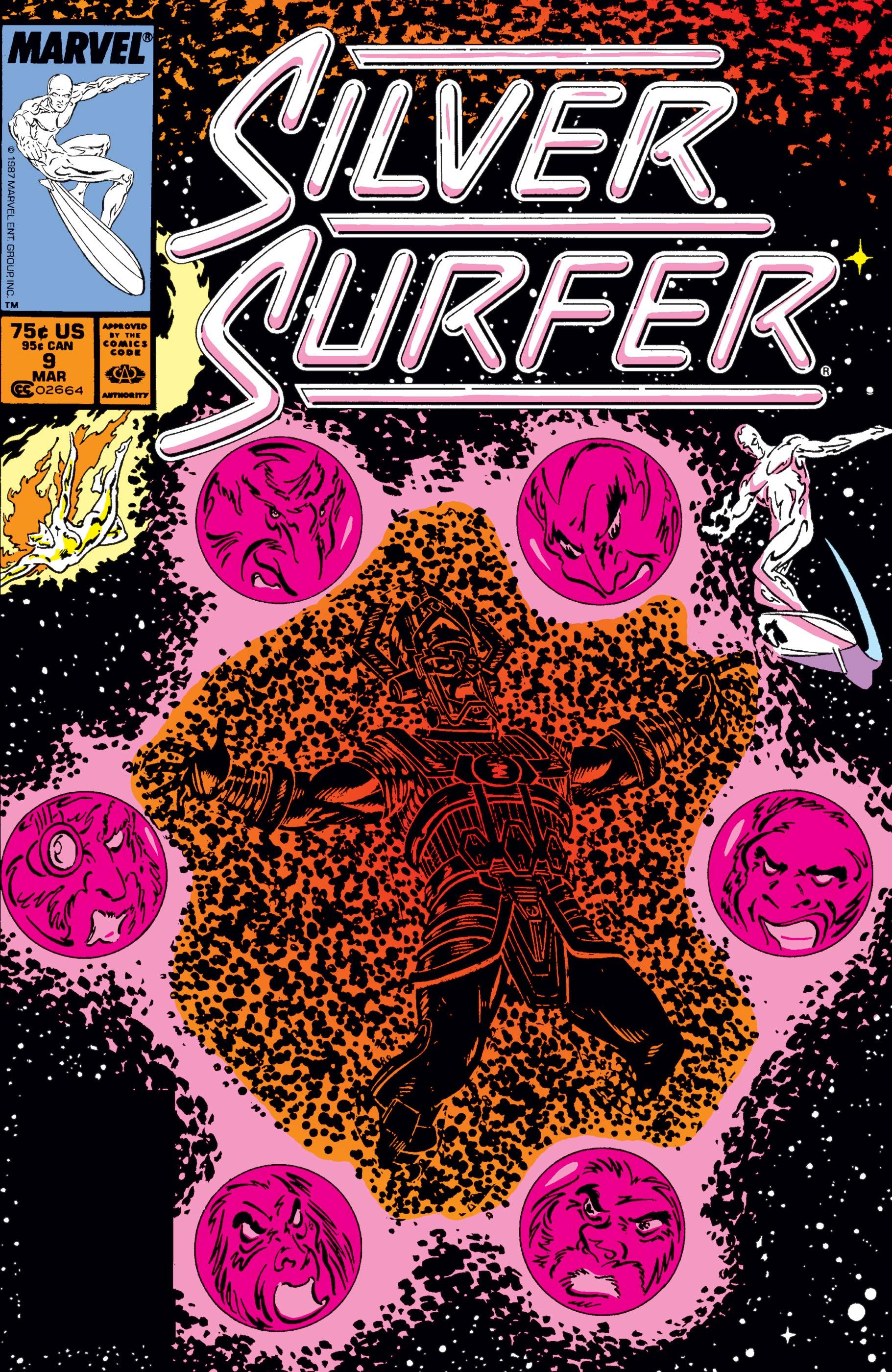 Silver Surfer (1987) #9
