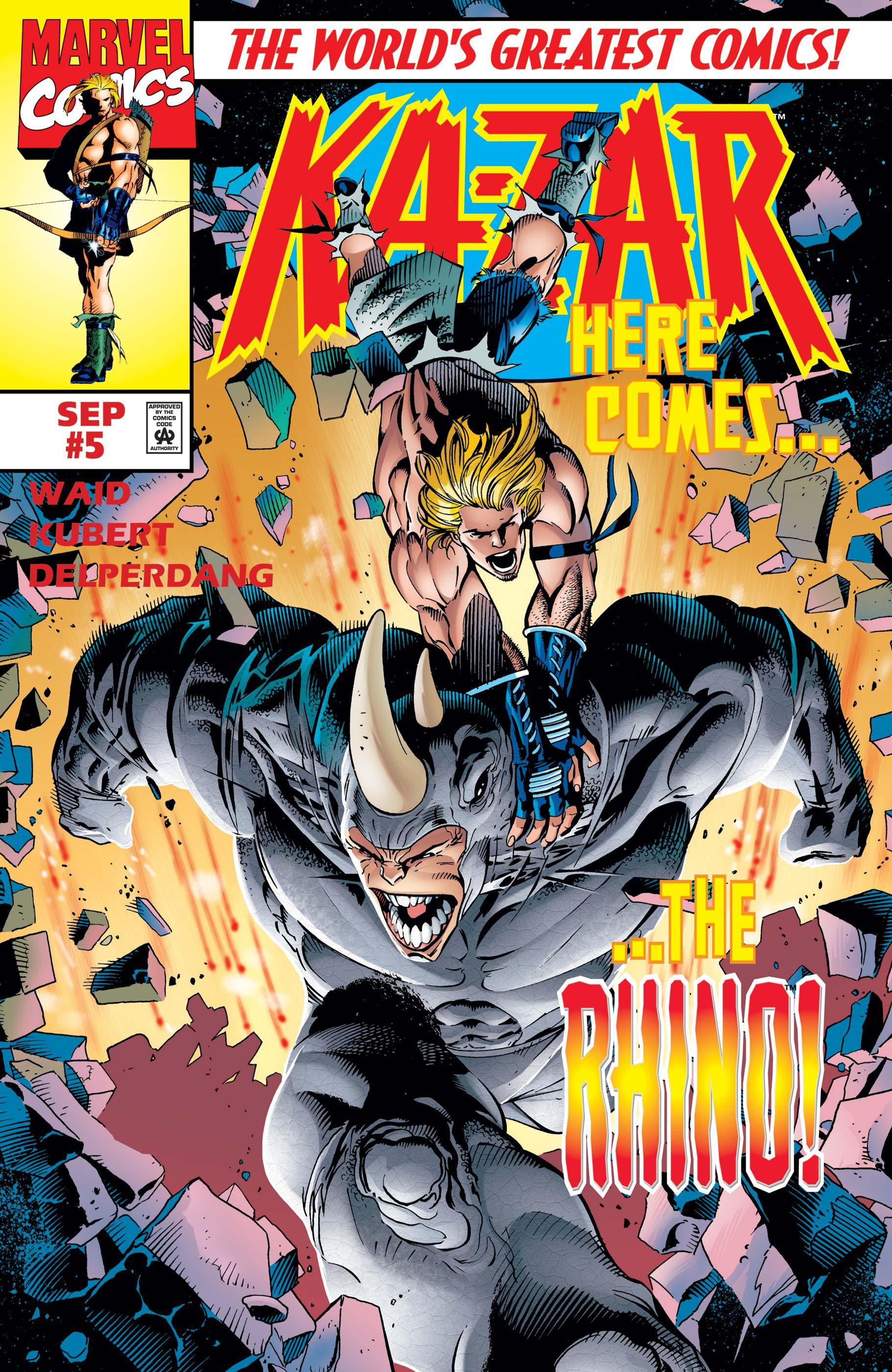 Ka-Zar (1997) #5
