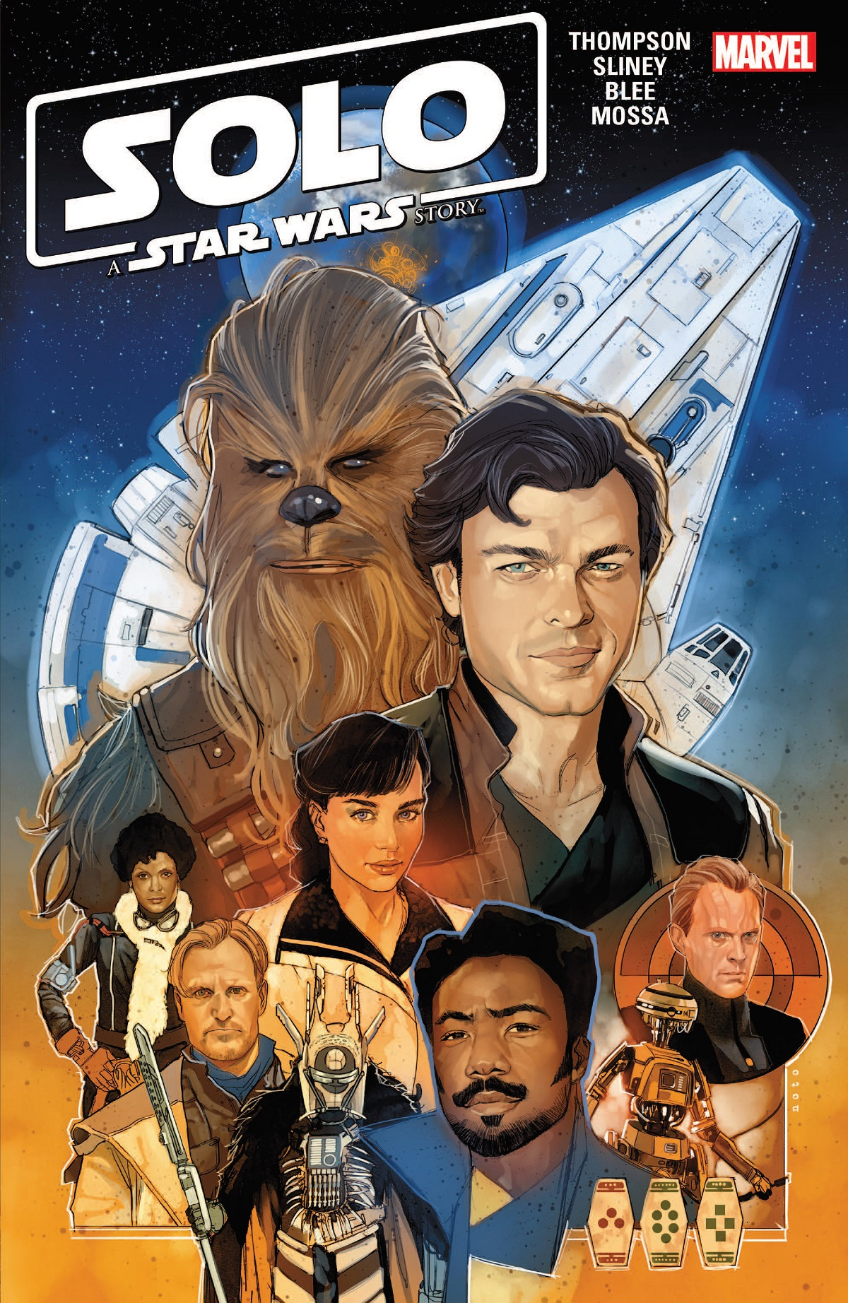 Solo: A Star Wars Story Adaptation (Trade Paperback)