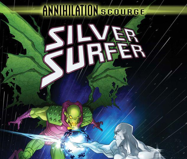 ANNIHILATION - SCOURGE: SILVER SURFER 1 YILDIRIM VARIANT #1