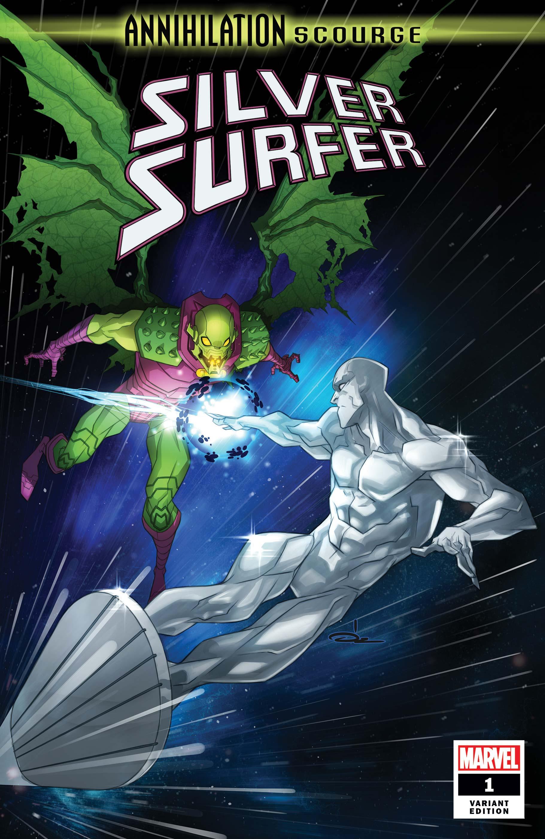 Annihilation - Scourge: Silver Surfer (2019) #1 (Variant)