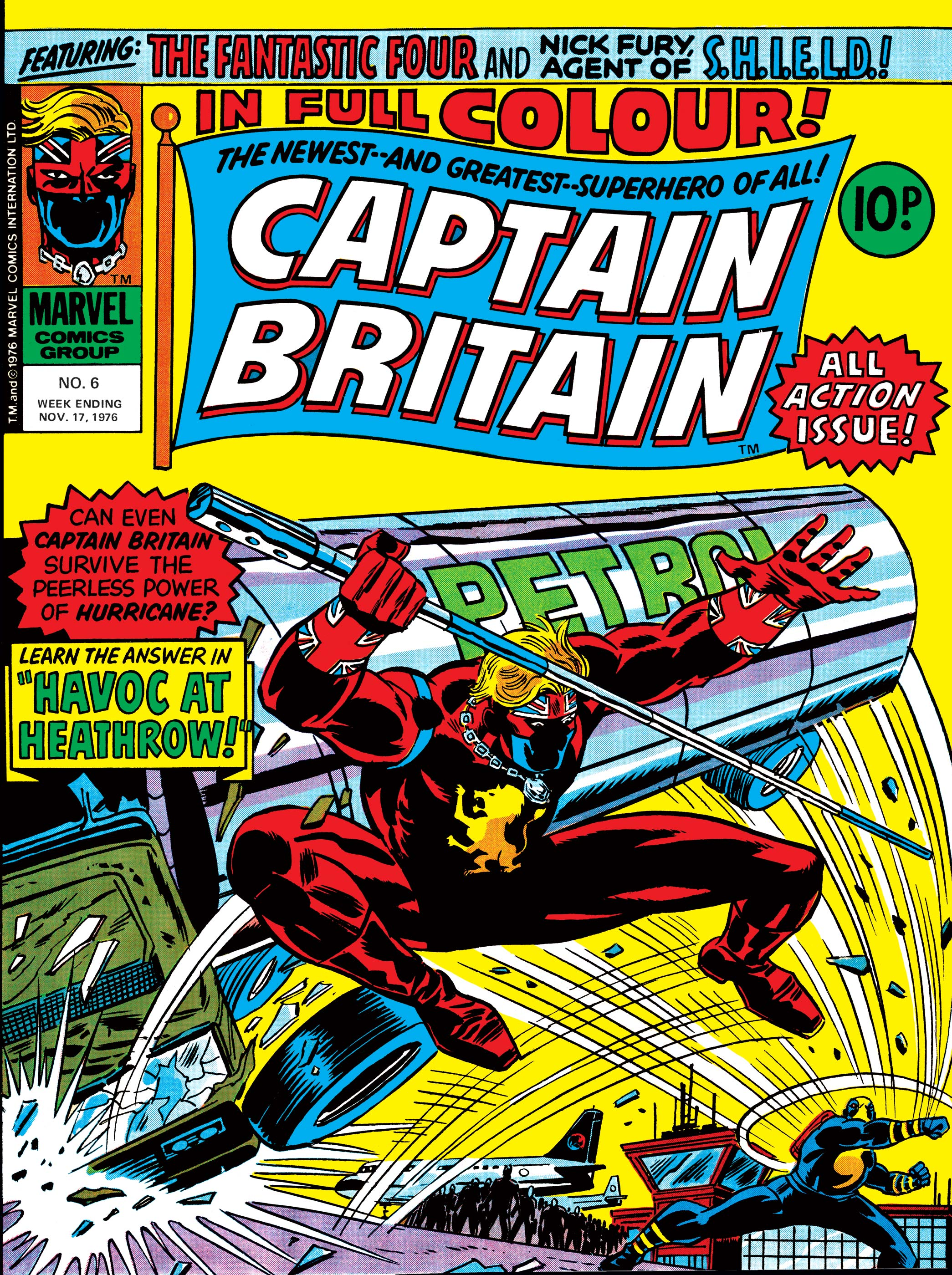 Captain Britain (1976) #6