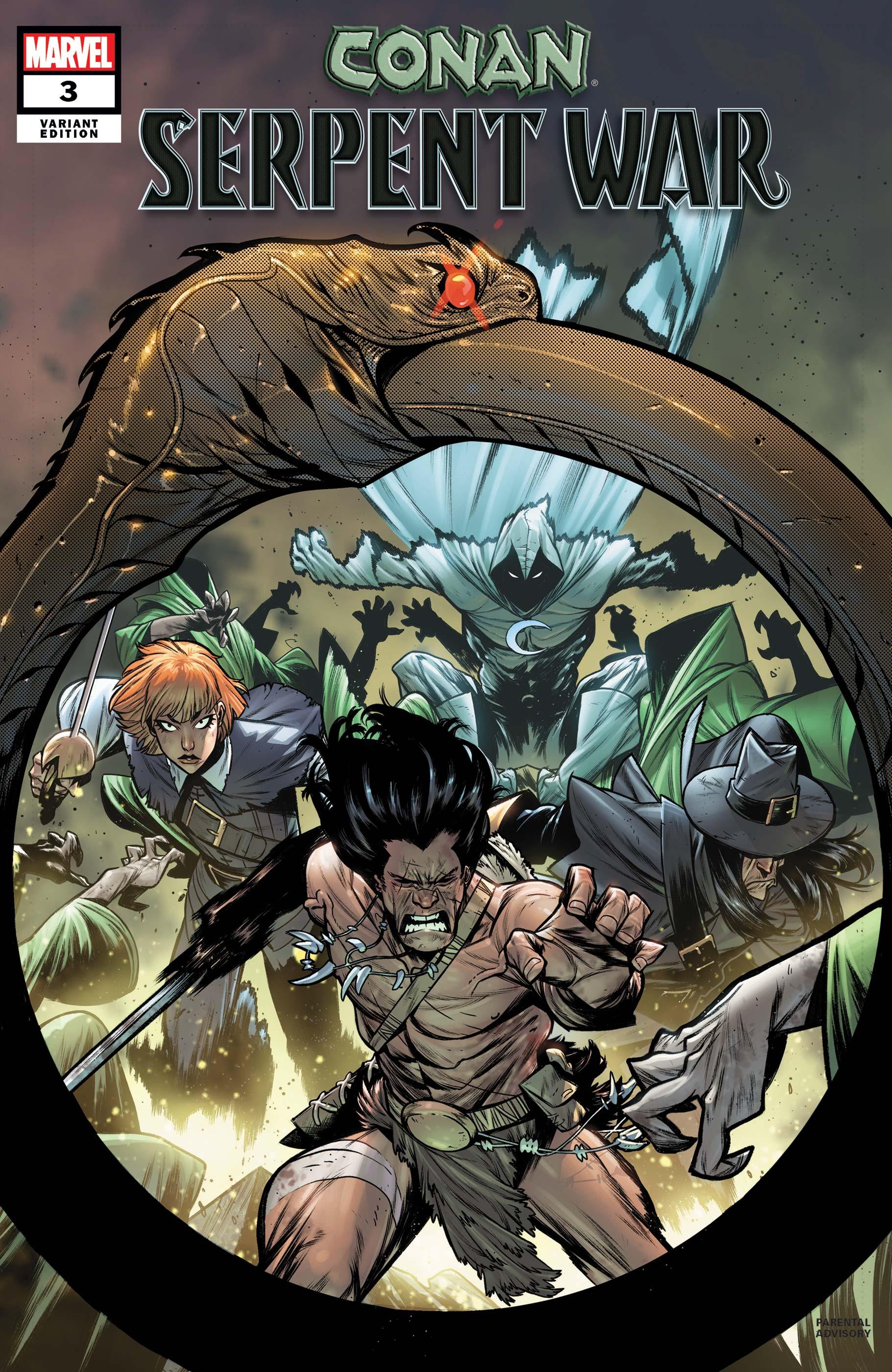 Conan: Serpent War (2019) #3 (Variant)