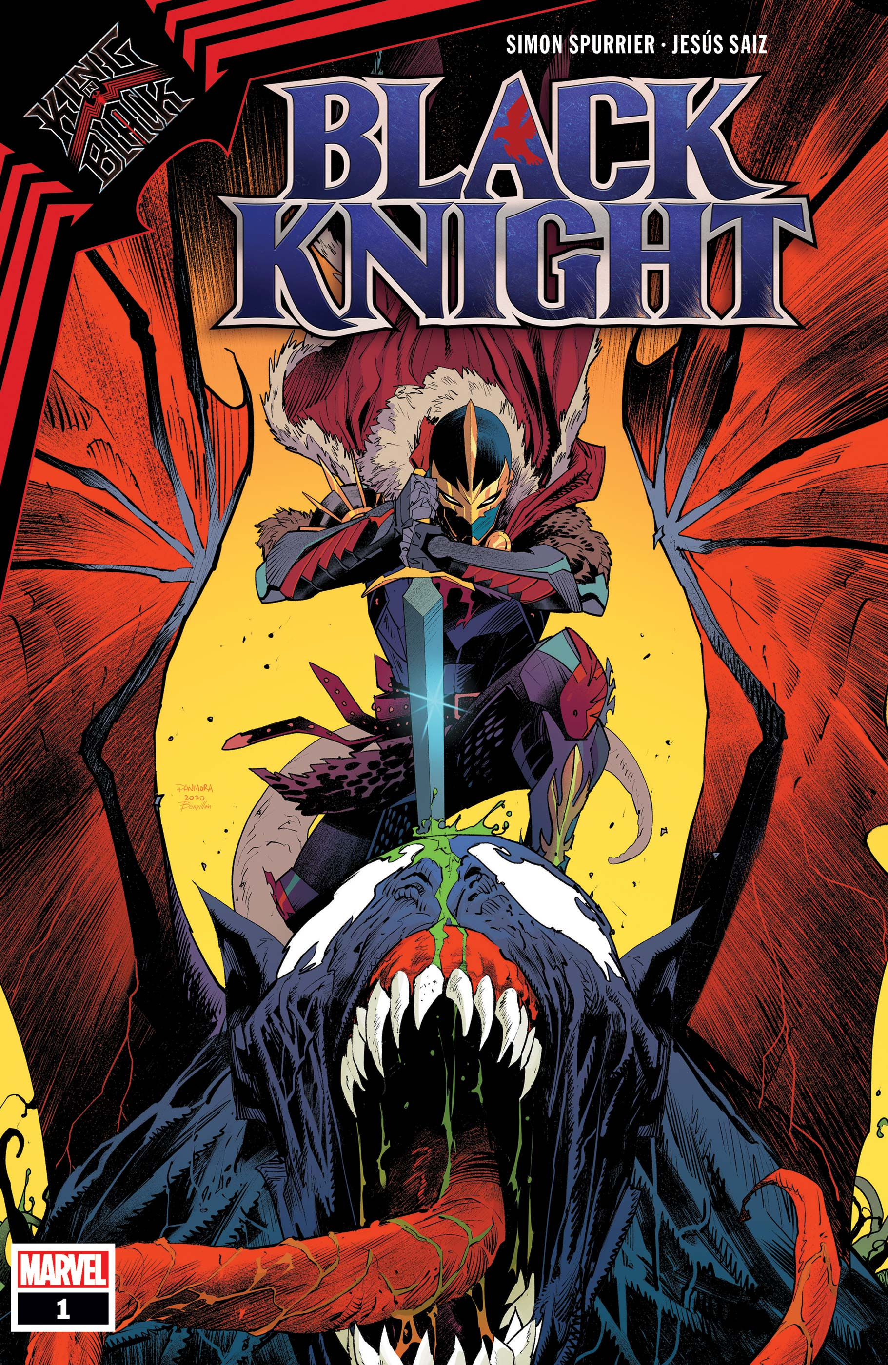 King In Black: Black Knight (2021) #1