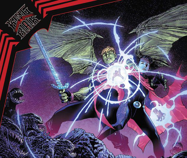 KING IN BLACK: WICCAN AND HULKING 1 #1