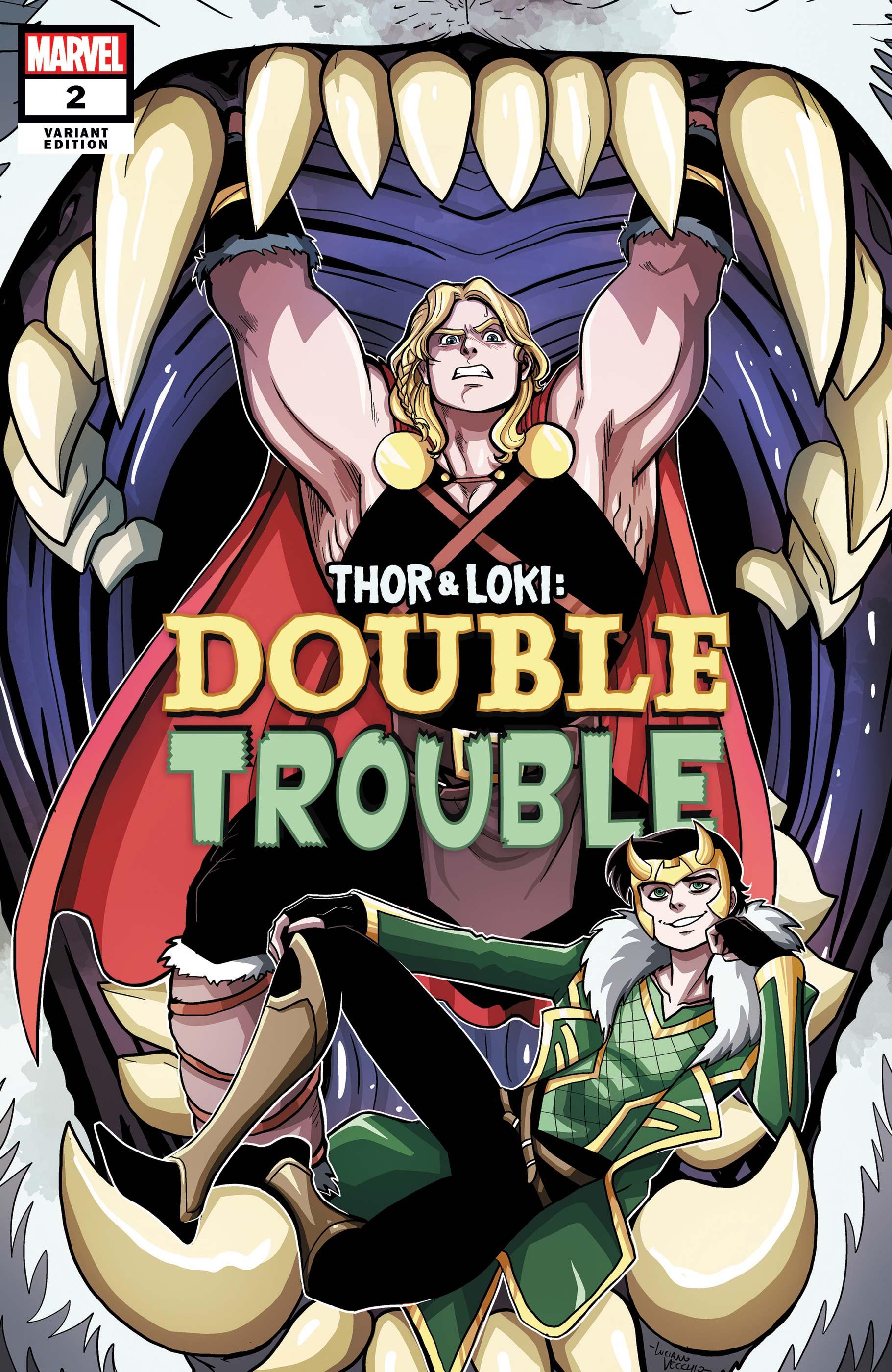 Thor & Loki: Double Trouble (2021) #2 (Variant)