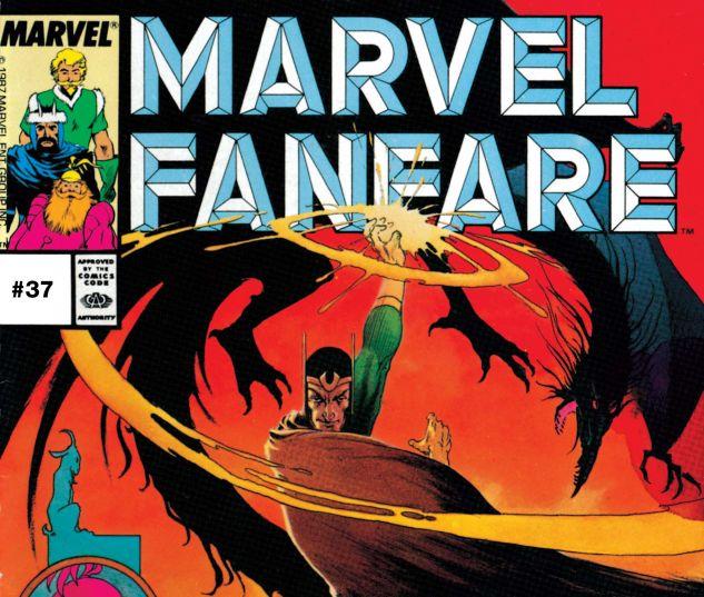 MARVEL FANFARE (1982) #37