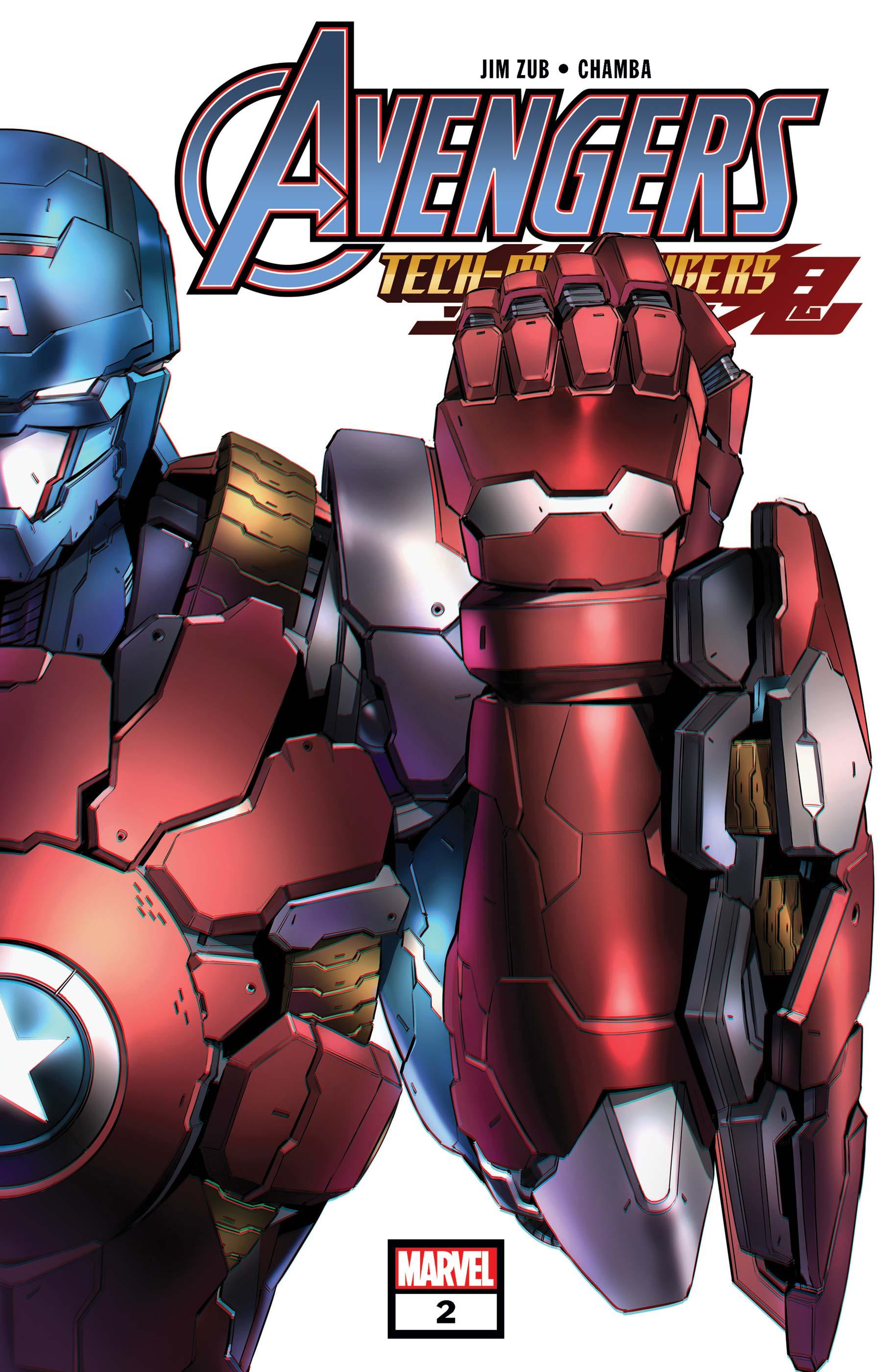 Avengers: Tech-on (2021) #2