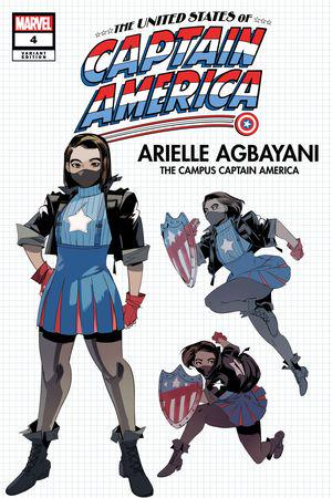 The United States of Captain America (2021) #4 (Variant)