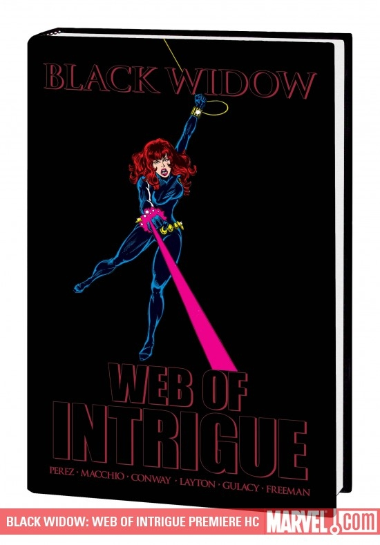 Black Widow: Web of Intrigue (Hardcover)