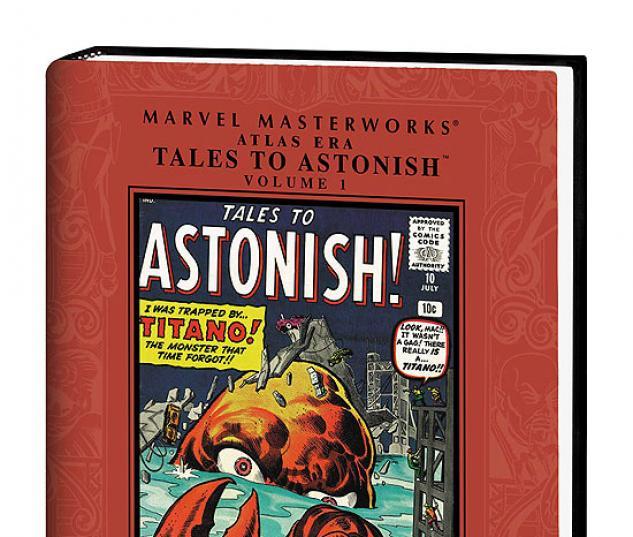 MARVEL MASTERWORKS: ATLAS ERA TALES TO ASTONISH VOL. #0