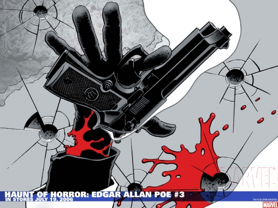 Haunt of Horror: Edgar Allan Poe (2006) #3 Wallpaper
