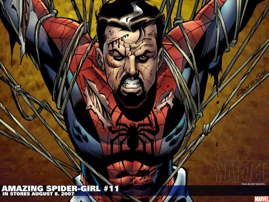 Amazing Spider-Girl (2006) #11 Wallpaper