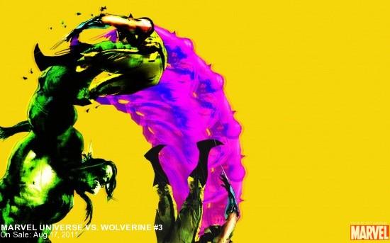 Marvel Universe vs Wolverine #3 Wallpaper