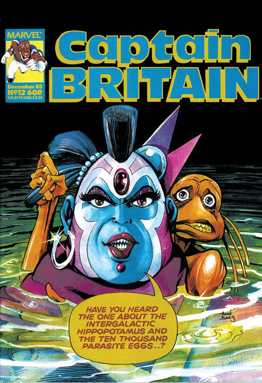 Captain Britain (1985) #12