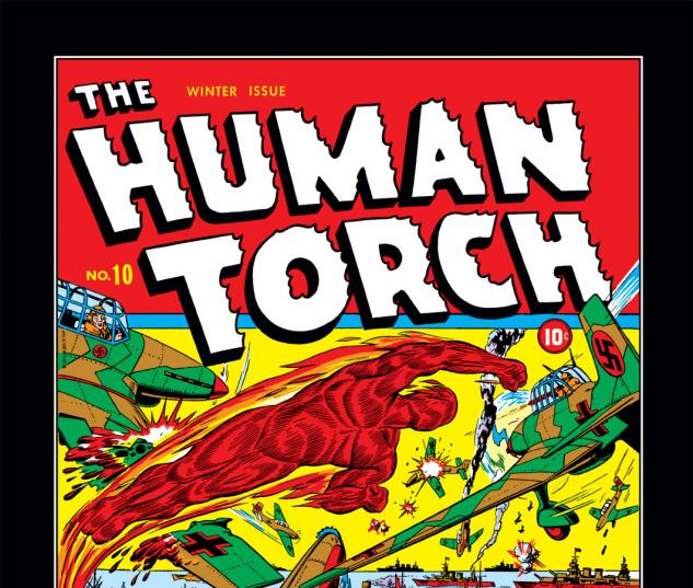 Human Torch (1940) #10 Cover