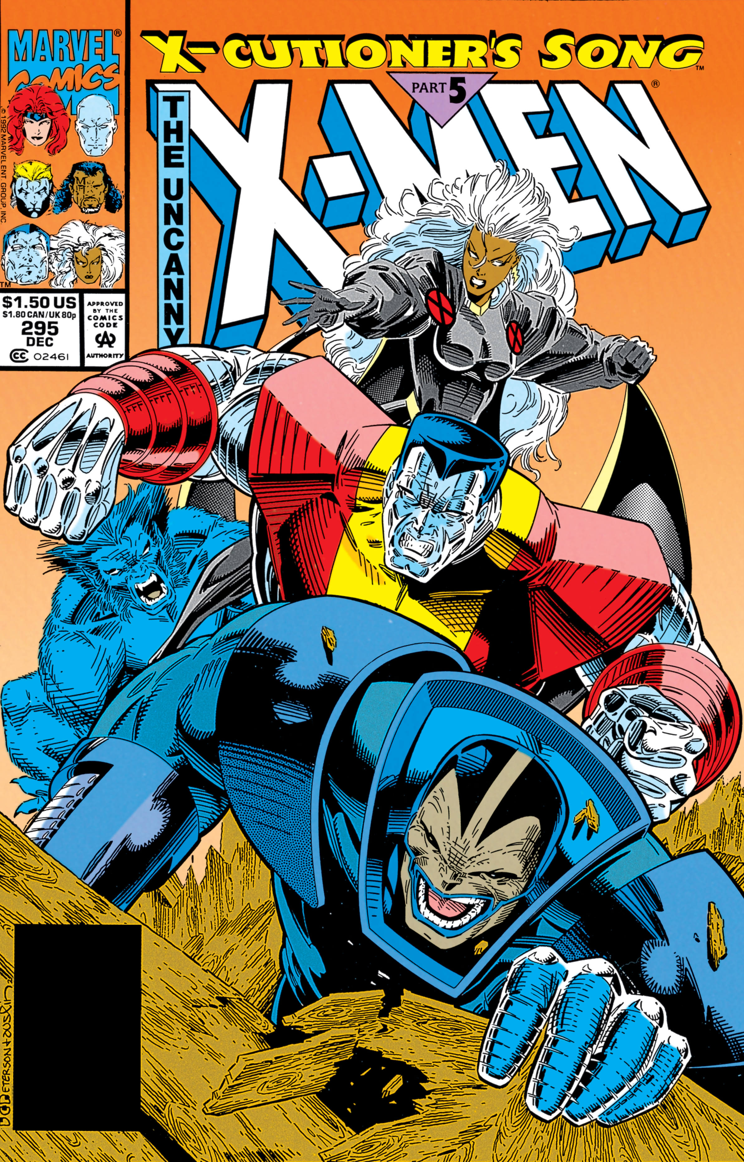 Uncanny X-Men (1963) #295
