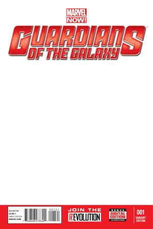 Guardians of the Galaxy (2013) #1 (Blank Cover Variant)