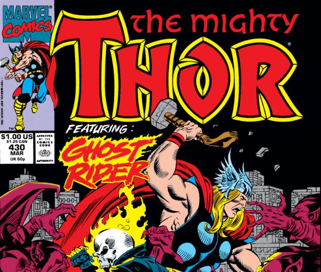Thor (1966) #430 Cover