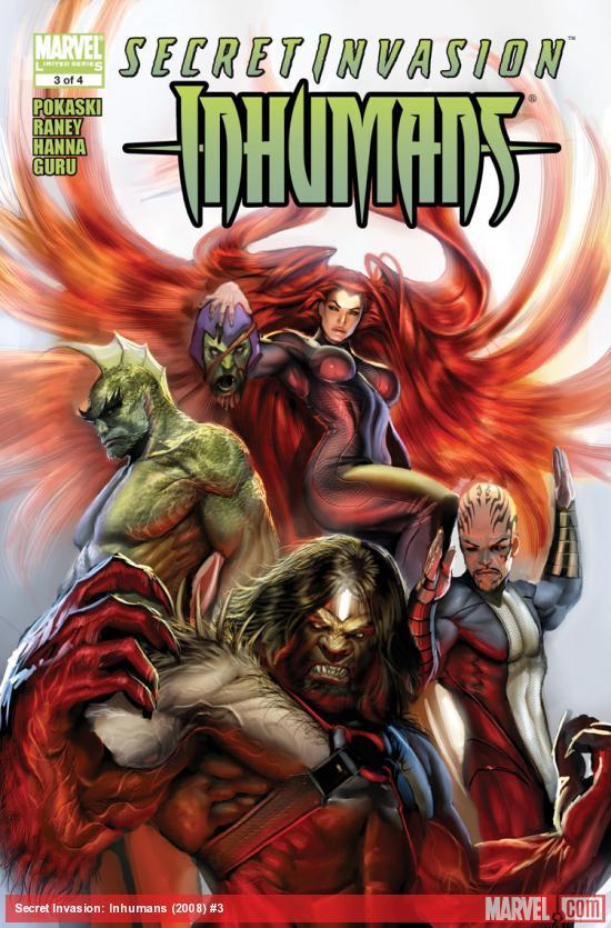 Secret Invasion: Inhumans (2008) #3