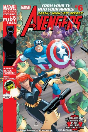 Marvel Universe Avengers: Earth's Mightiest Heroes (2012) #6