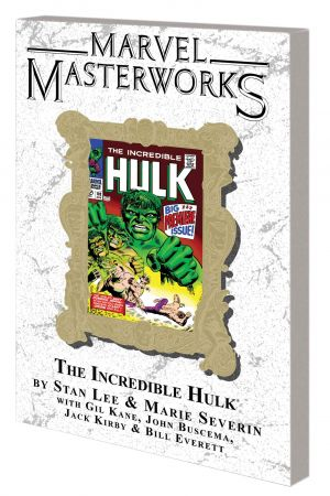 MARVEL MASTERWORKS: THE INCREDIBLE HULK VOL. 3 TPB VARIANT (DM ONLY) (Trade Paperback)