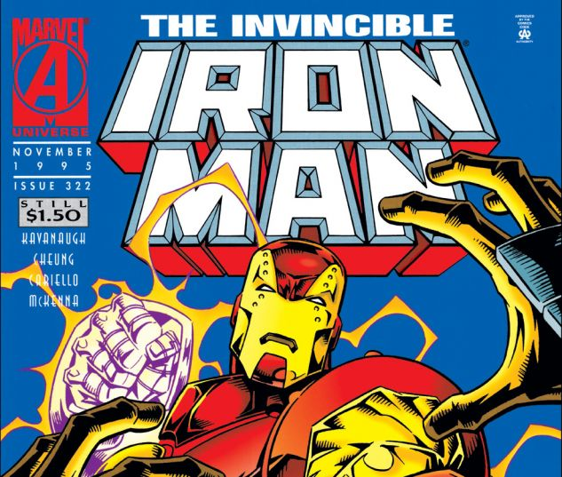 Iron Man (1968) #322 Cover