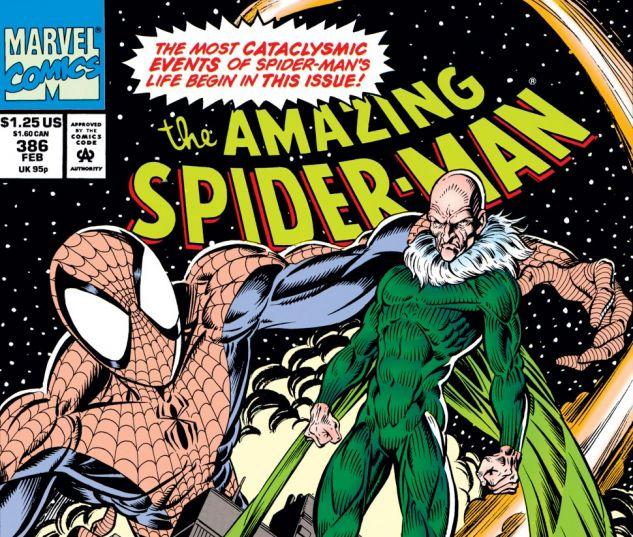 Amazing Spider-Man (1963) #386 Cover