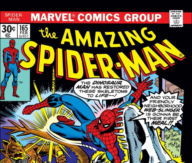 Amazing Spider-Man (1963) #165 Cover