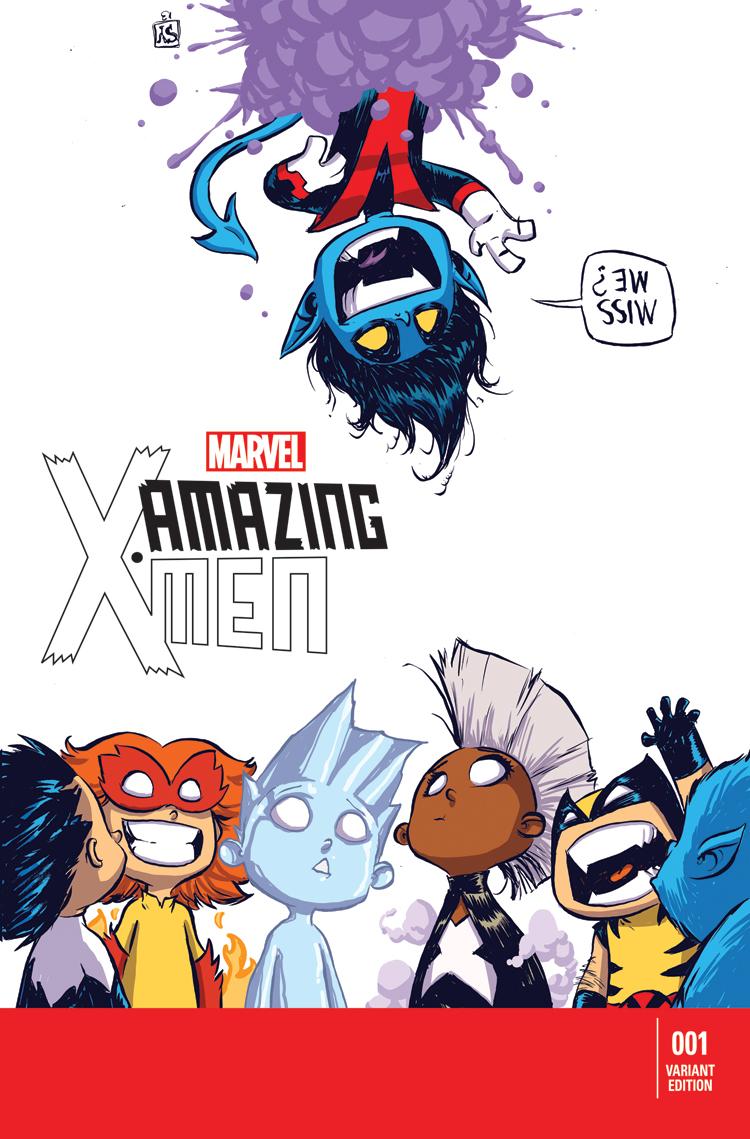 Amazing X-Men (2013) #1 (Young Variant)