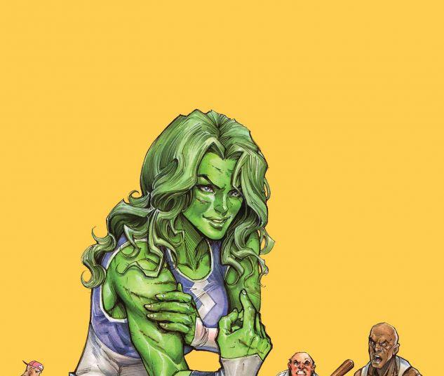 She-Hulk (2014) #1 Oyum Variant Cover