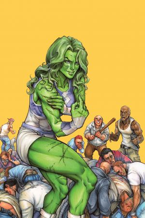 She-Hulk (2014) #1 (Oyum Variant)