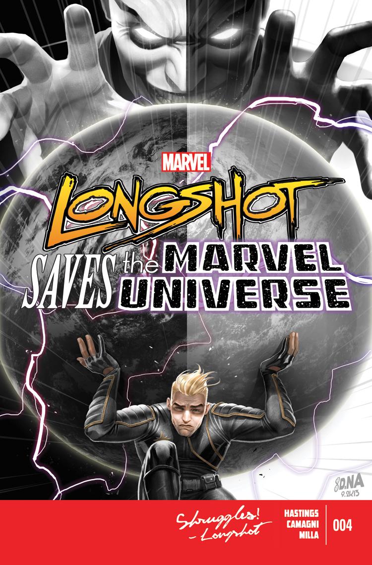 Longshot Saves the Marvel Universe (2013) #4