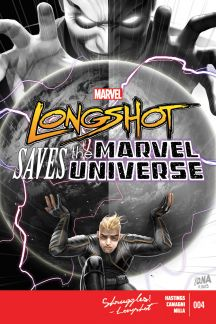 Longshot Saves the Marvel Universe #4