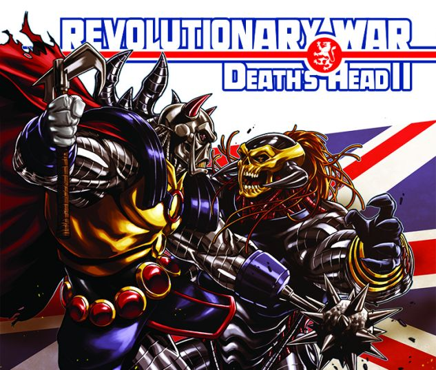 cover from Revolutionary War: Death's Head II (2014) #1 (TBD ARTIST VARIANT)
