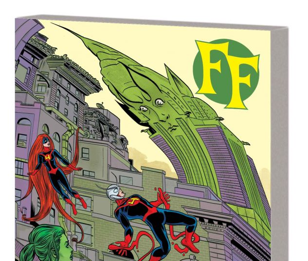 FF VOL. 2: FAMILY FREAKOUT TPB (MARVEL NOW)