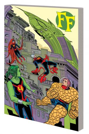 FF VOL. 2: FAMILY FREAKOUT TPB (Trade Paperback)