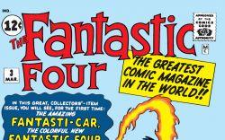 Fantastic Four (1961) #3 Cover